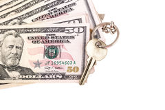 Money and key Stock Images