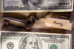 Money key Stock Image