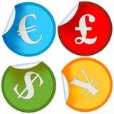 Money label Stock Image