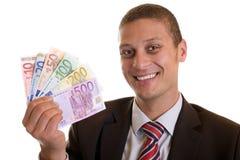 Money laughs Stock Image