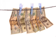 Money laundering Royalty Free Stock Photography