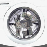 Money laundering Stock Photography