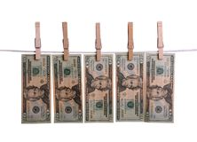Money Laundering Stock Photography