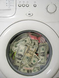 Money laundering concept Stock Images