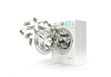 Money laundering concept, Stock Images