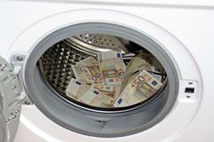 Money laundering concept Stock Photography