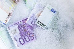 Money Laundering, Concept Royalty Free Stock Images
