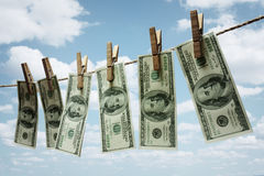 Money laundering Stock Photos