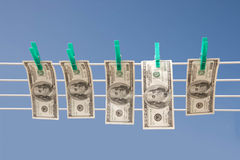 Money laundry Stock Photography