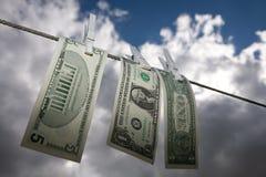 Money laundry Royalty Free Stock Image