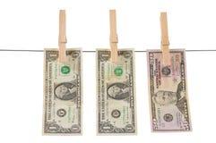 Money laundry. Concept Stock Image