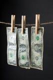 Money laundry concept Stock Image