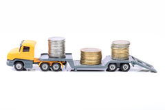 Money load Royalty Free Stock Photo