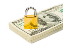 Money and lock Stock Photography