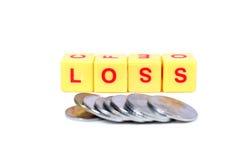 Money loss Royalty Free Stock Photo