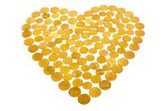 Money love Royalty Free Stock Image