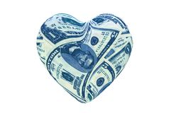 Money love Royalty Free Stock Images