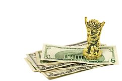 Money magic Royalty Free Stock Photos