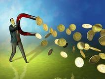 Money magnet Stock Photography
