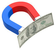 The money magnet Royalty Free Stock Photography