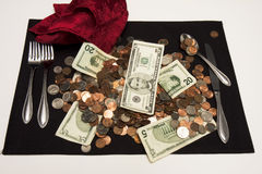 Money Main Entree Royalty Free Stock Image