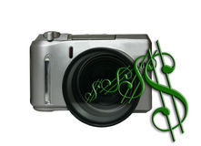 Money Maker. Conceptual of the money that can be made with photography Stock Photos