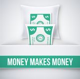 Money makes money Royalty Free Stock Photography