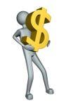 Money Man Stock Photography