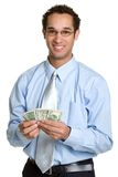 Money Man Royalty Free Stock Image