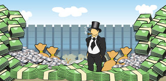 Money Man Royalty Free Stock Images