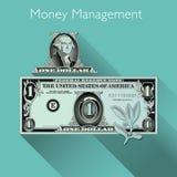 Money Management background Royalty Free Stock Photo