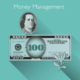 Money Management background Stock Photo