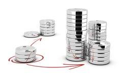 Money Management - Strategic Choices Royalty Free Stock Photos