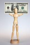 Money mannequin Stock Photos