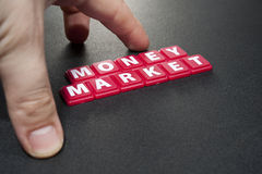Money on the market Stock Photos