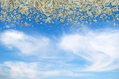 Money mass. Royalty Free Stock Photography
