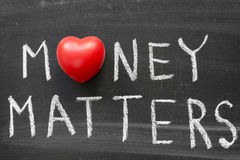 Money matters Royalty Free Stock Images