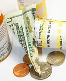 Money and medicine Stock Images