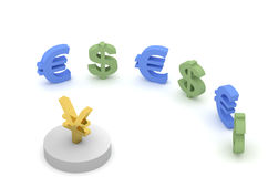 Money meeting Stock Image