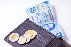 Money of Mexico Royalty Free Stock Photography