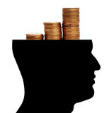 Money in Mind Royalty Free Stock Photography