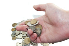 Money Money. Give money to every one because there are o lot Stock Image
