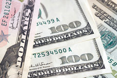 Money Money. Close up shot of dollars royalty free stock photo