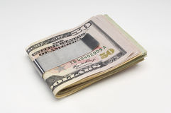 Money In Money Clip Stock Image