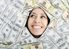 Money, money, money... Royalty Free Stock Images