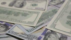Money movement macro stock footage