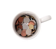 Money mug Royalty Free Stock Photos