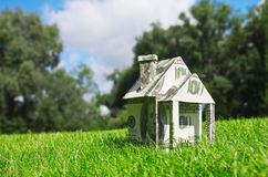 Money for new housing Royalty Free Stock Photo