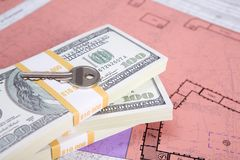Money for new real estate Stock Image