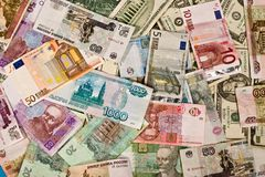 Money nexture Royalty Free Stock Image